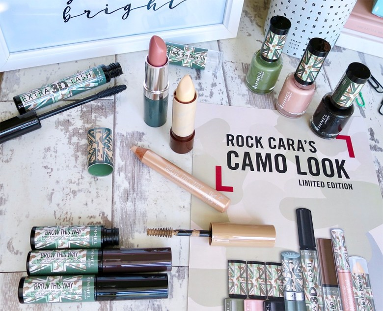 Rimmel Cara Camo Collection for Superdrug