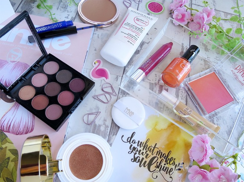 Favourite Summer Makeup Products