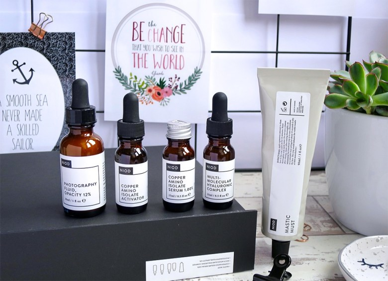 NIOD Dermal Science Radiance Set Review