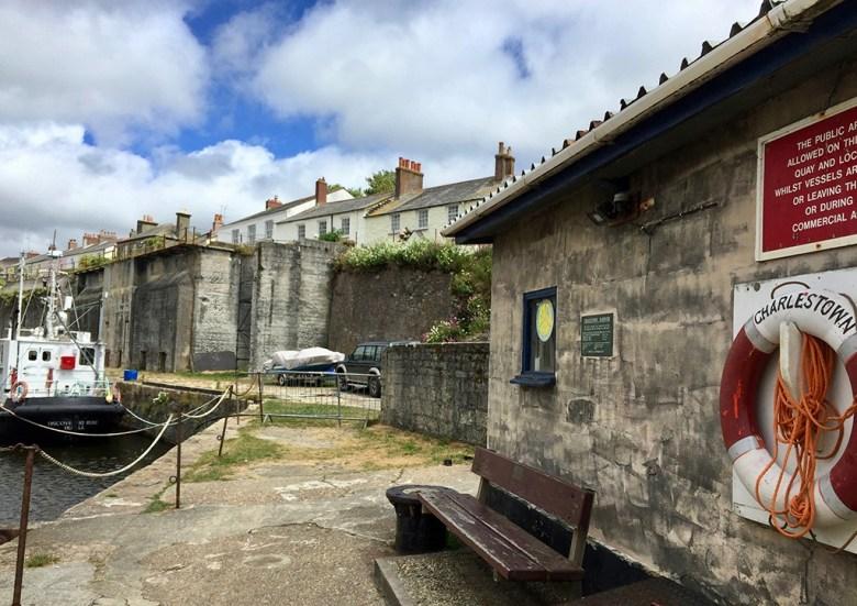 Charlestown Harbour Cornwall