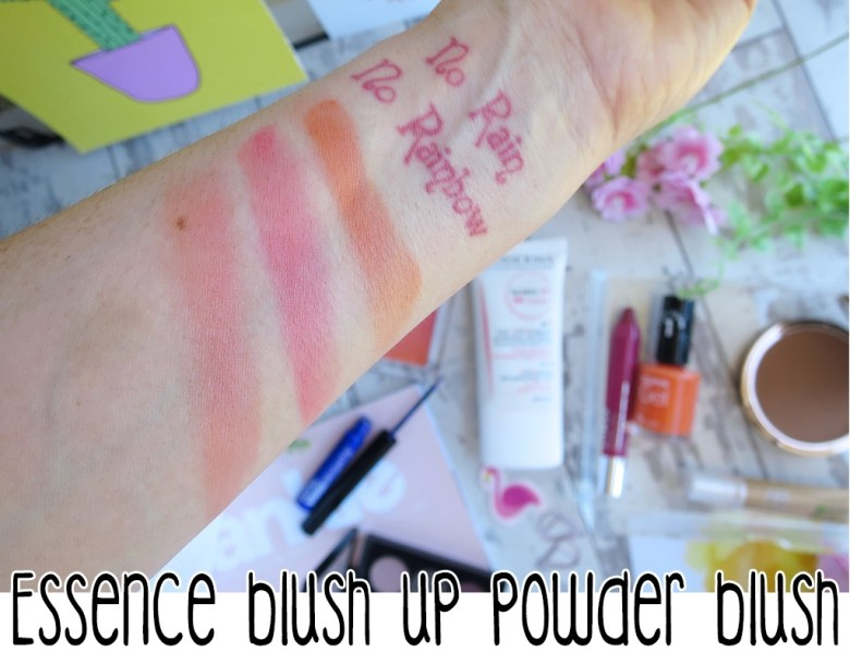 Essence Blush Up Swatches