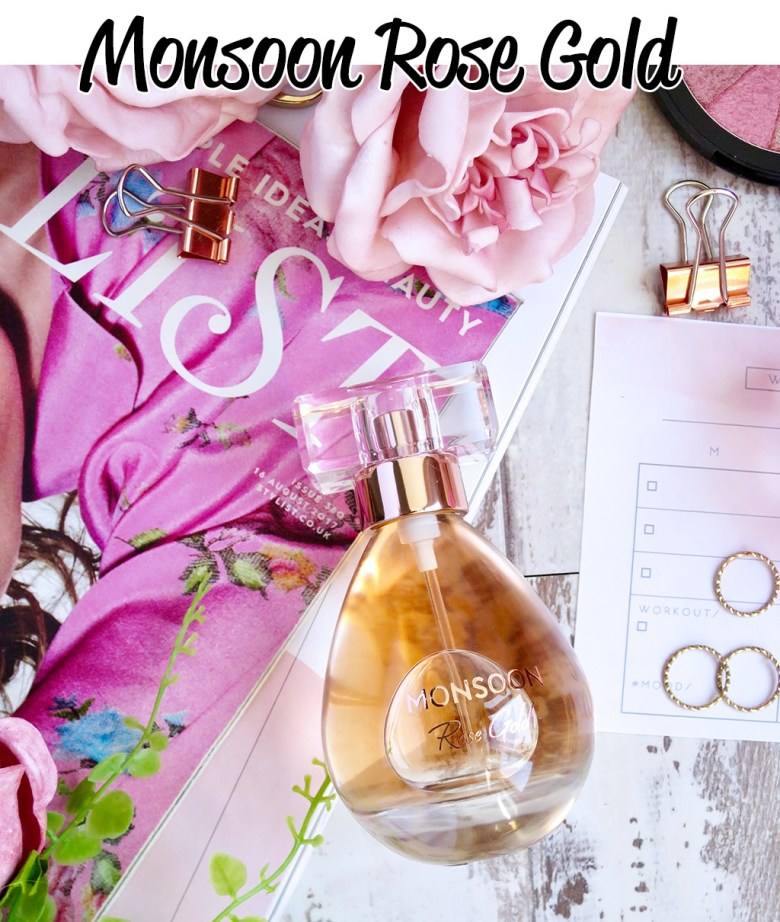 Monsoon Rose Gold Fragrance