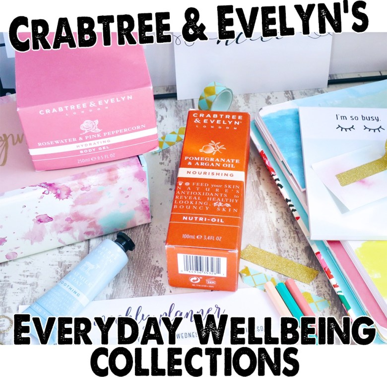 NEW Crabtree Evelyn Everyday Wellbeing Collections