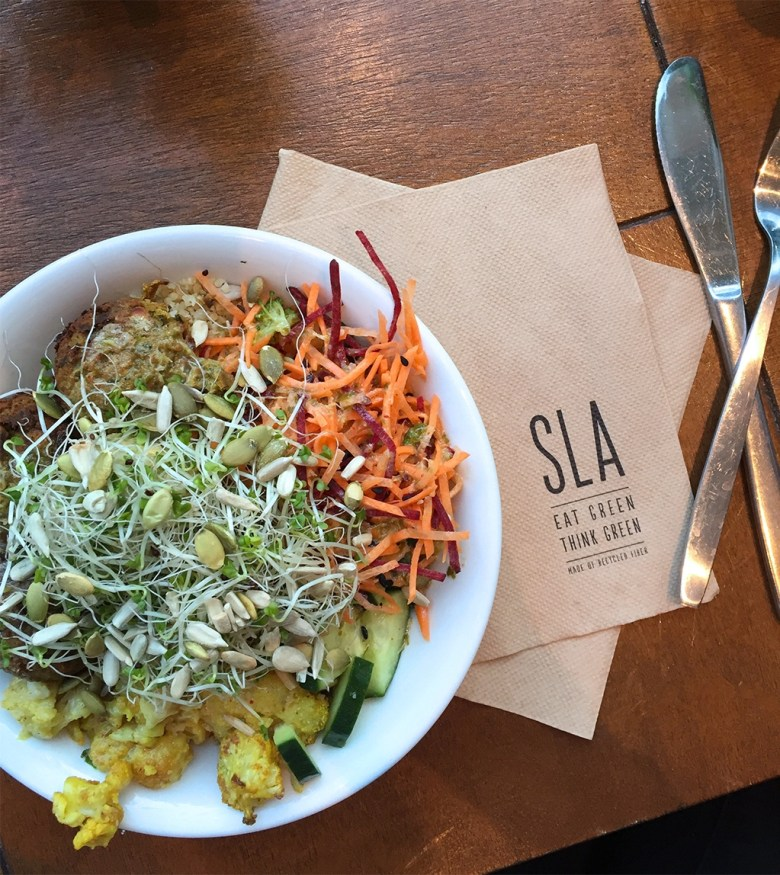 SLA Vegan Salad