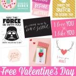 Free Valentine's Day Printables 2018