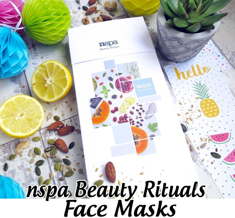 nspa beauty rituals face masks