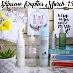 Skincare Empties March 2018