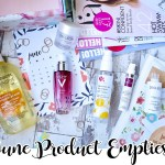 June 2018 Skincare Product Empties
