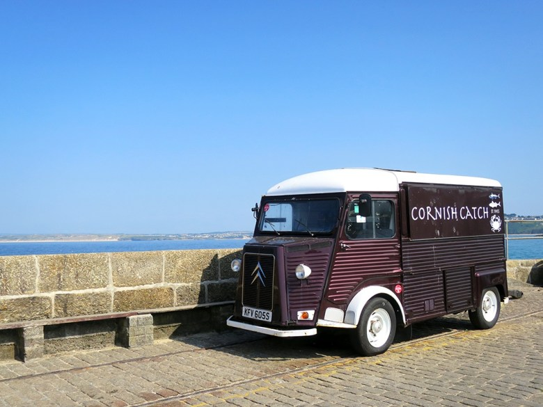 The Cornish Catch Citroen Van