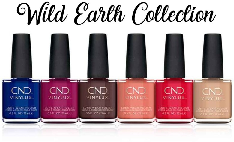 CND Vinylux Wild Earth Nail Polish Collection