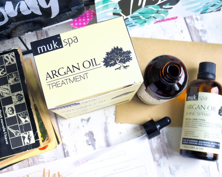 MUK SPA ARGAN OIL HAIRCARE COLLECTION