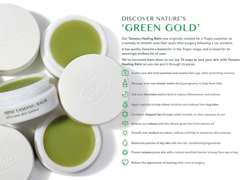 Green Gold Tropic Tamanu Healing Balm