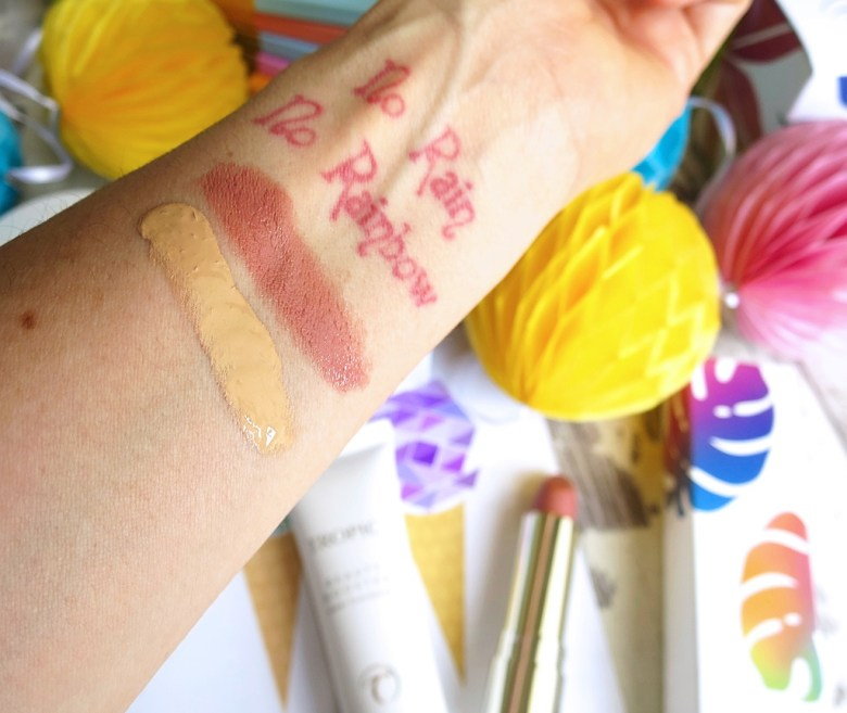 Tropic Beauty Booster Swatch