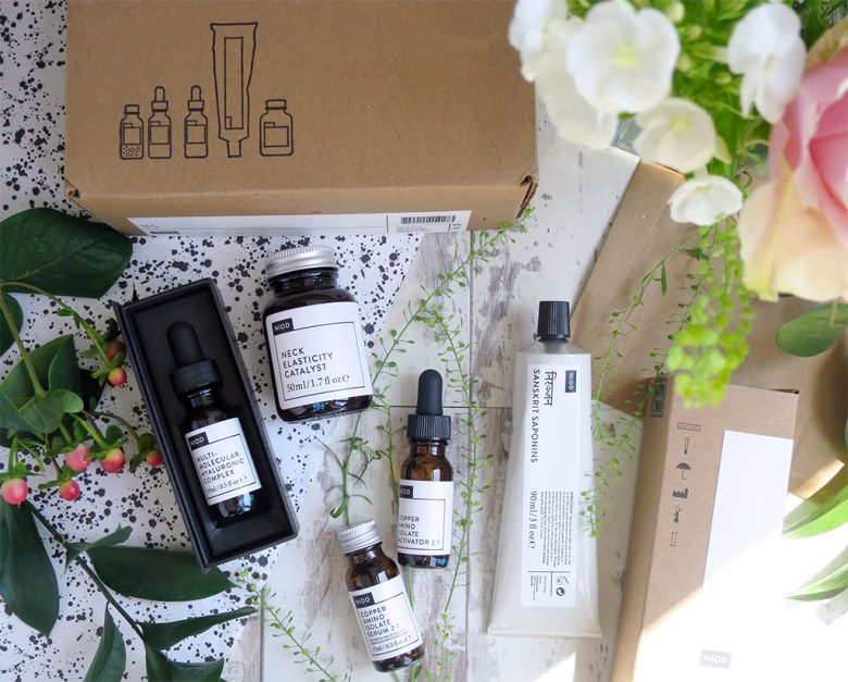 NIOD QVC TSV 4 Piece Concentrated Skincare Set