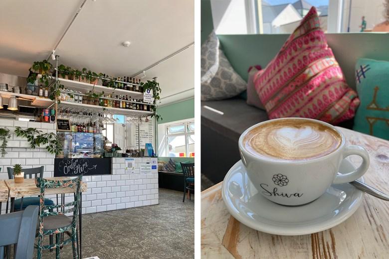 Shiva Cafe Newquay Cornwall