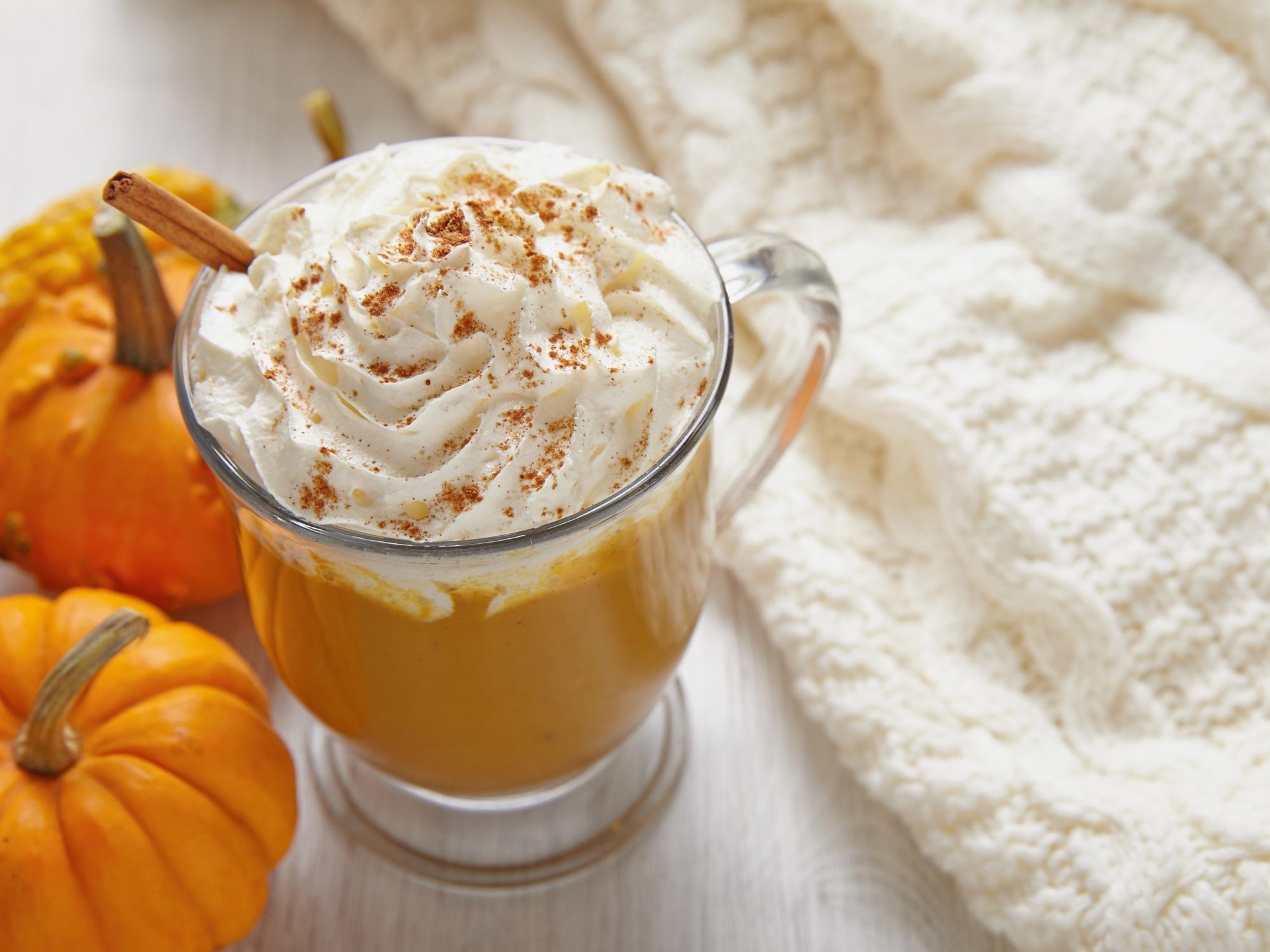 pumpkin spice latte recipe uk