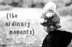 ordinary moments blog hop