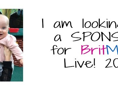 Looking for a SPONSOR for BritMums Live 2014