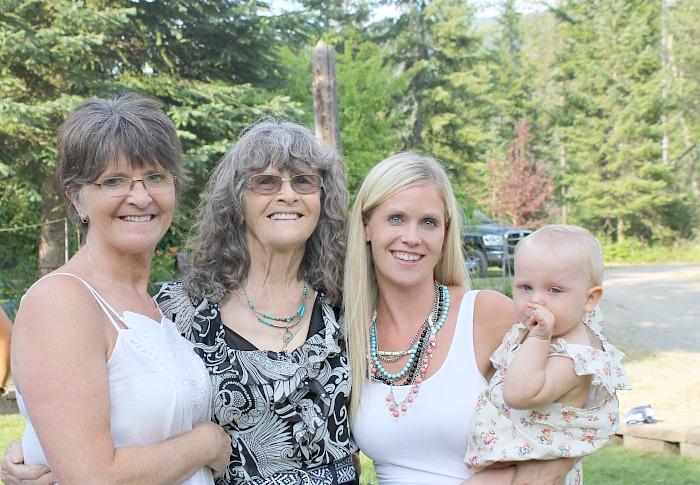 four generation photo