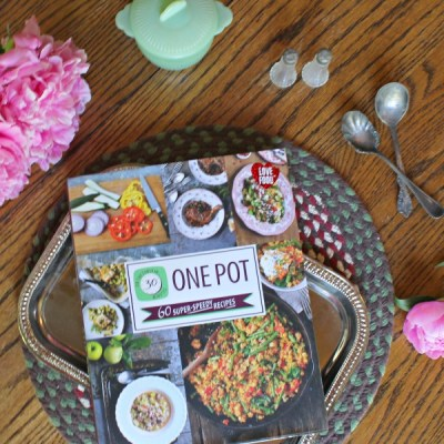 On the table in 30: One Pot Cookbook Review