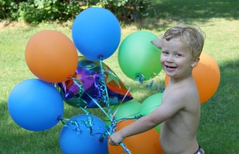 Buba's 3rd birthday pool party