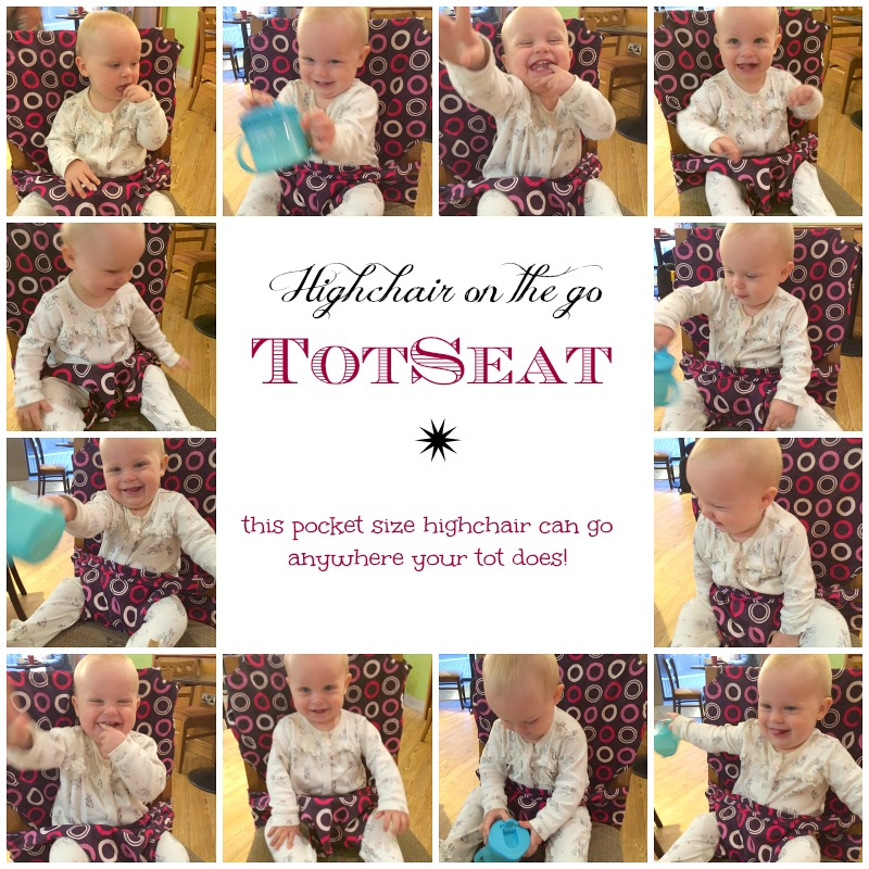 travel highchair totseat