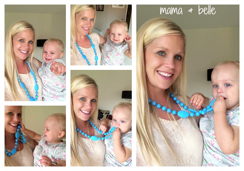 mama & belle teething necklace