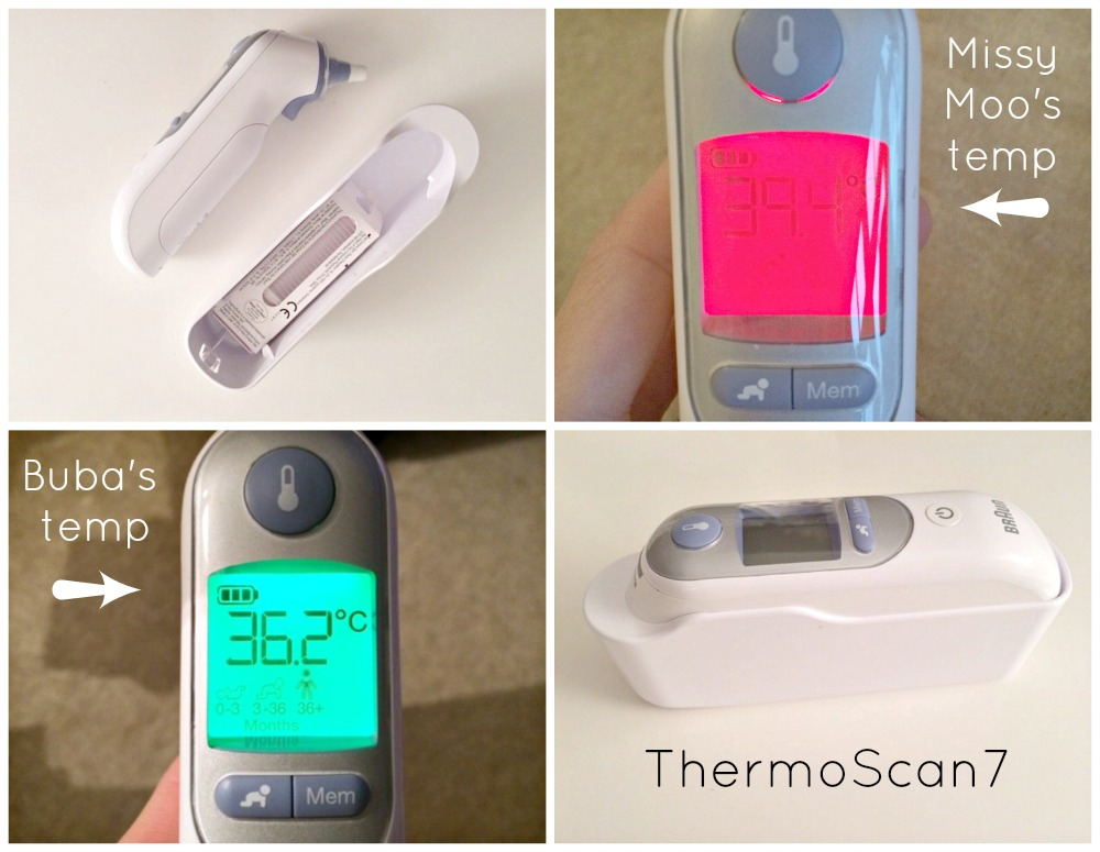 Braun ThermoScan7 Braun Baby Thermometer