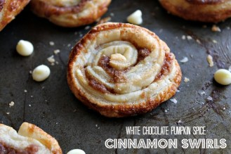 White Chocolate Pumpkin Spice Cinnamon Swirls Recipe