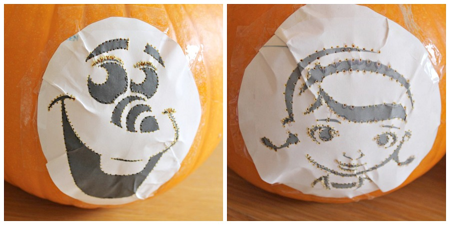 How to carve olaf doc mcstuffins pumpkins giveaway