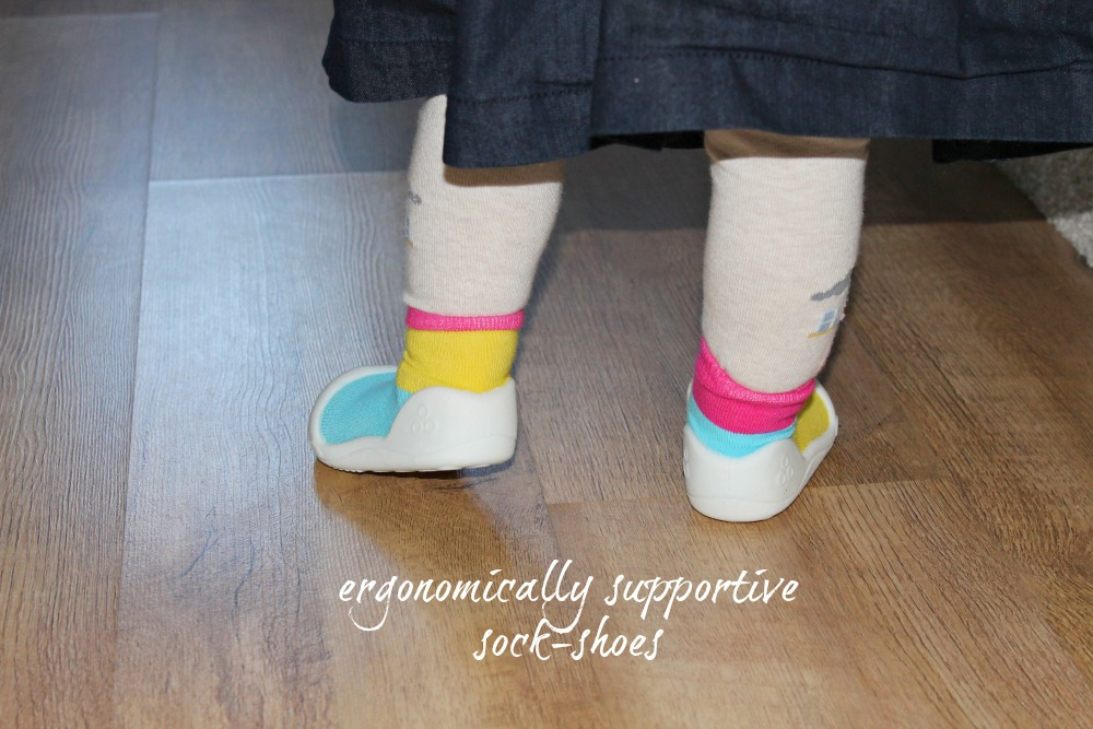 Attipas Ergonomic First Baby Toddler Shoes Pre-walker shoes sock-shoes