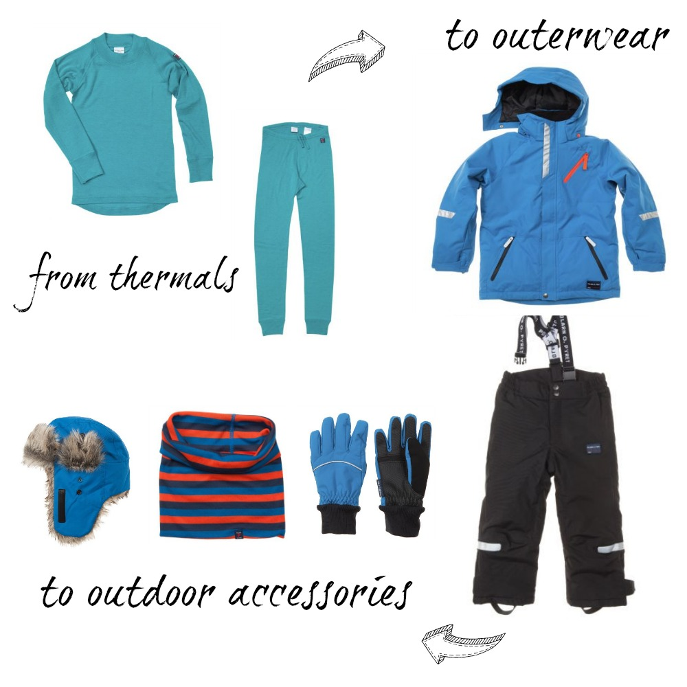 Toddler Ski Wardrobe Polarn O. Pyret