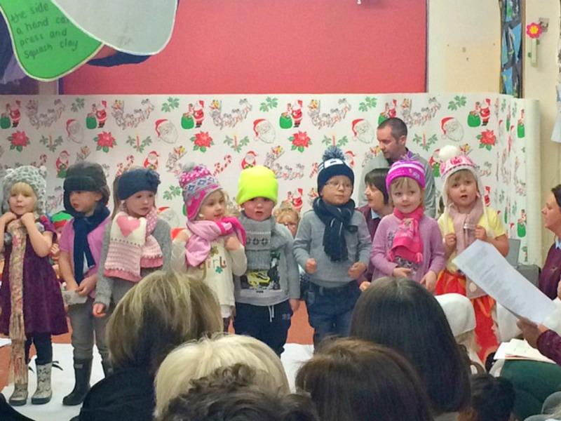 First Christmas Play at Nursery