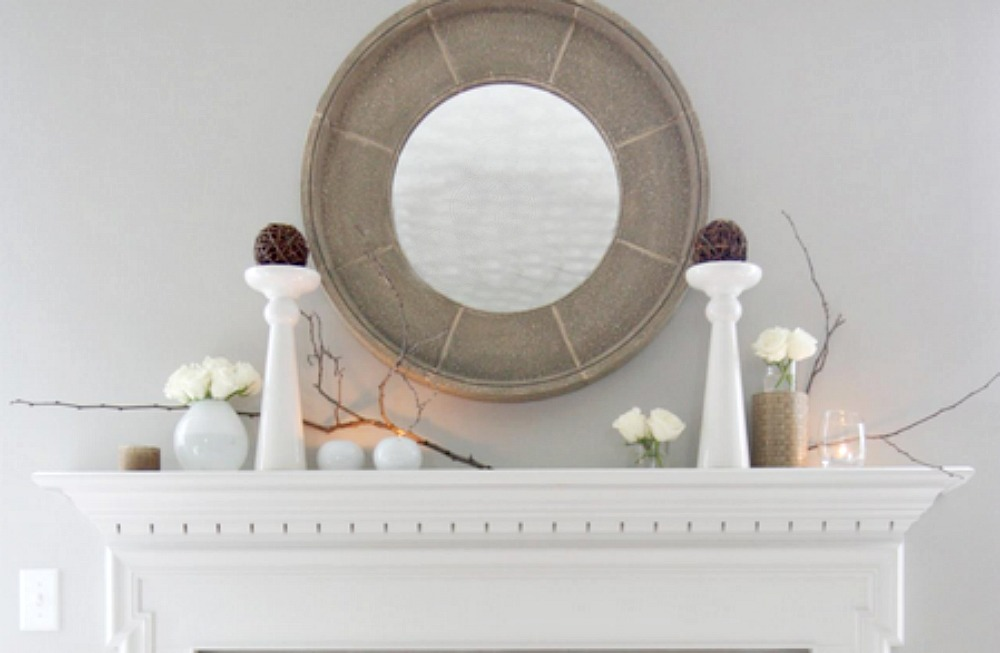 mantelpiece inspiration home decor