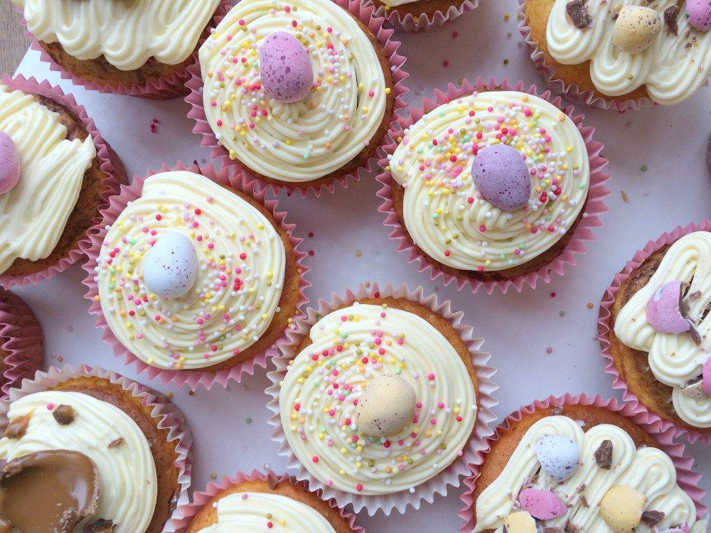 Easter cupcakes recipe