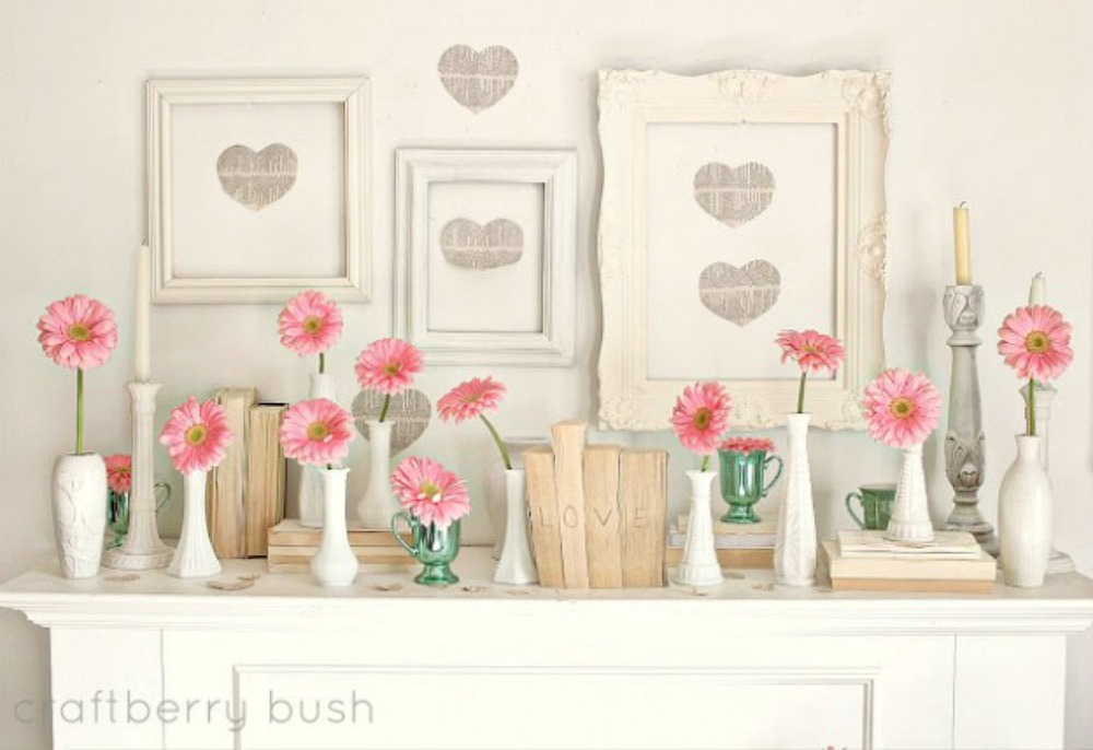 Valentine's Day Home Decor Interiors