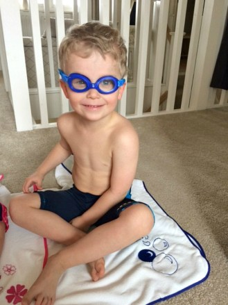 Konfidence swimming gear letters to my children