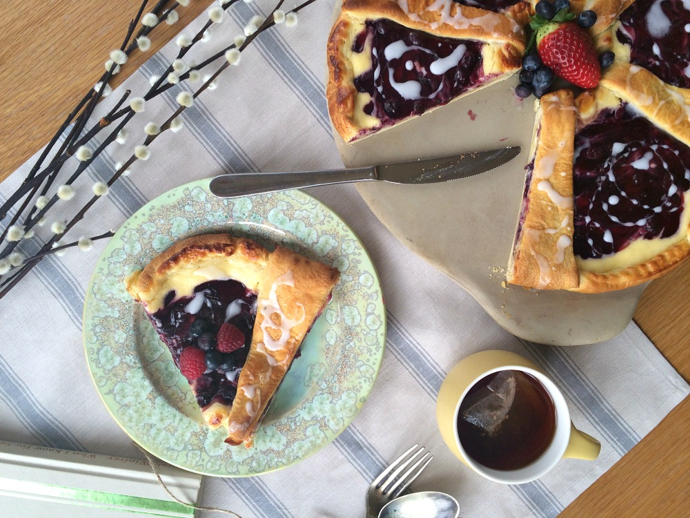 Blackcurrant Croissant Cheese Cake Recipes