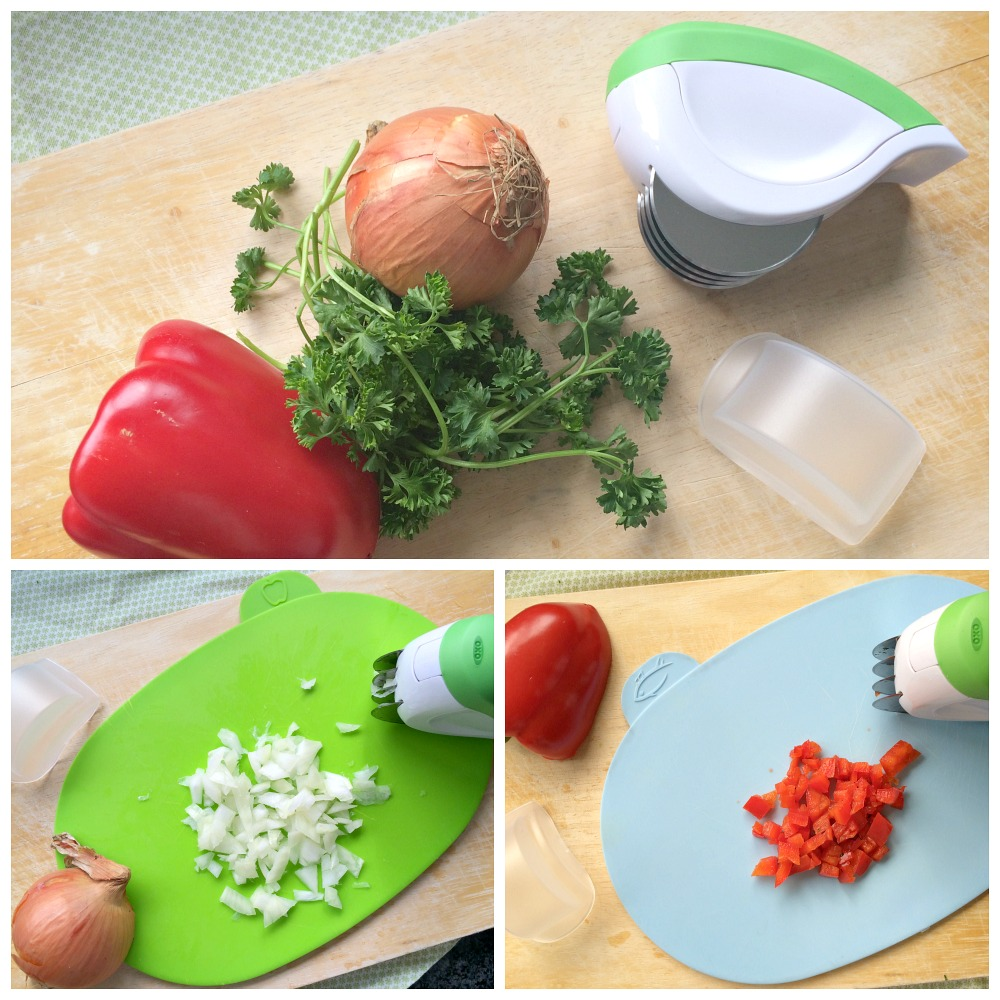 OXO Herb Mincer Review Giveaway