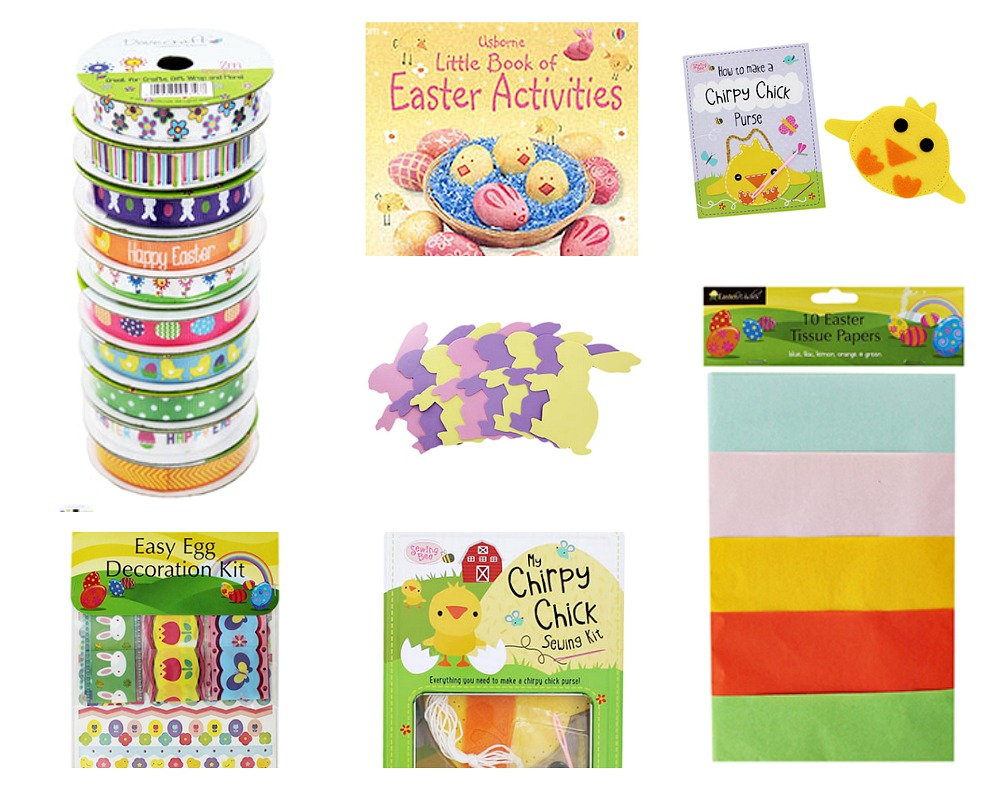 The Works arts & crafts for kids and Easter