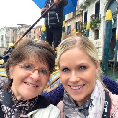 Gondola rides in Venice