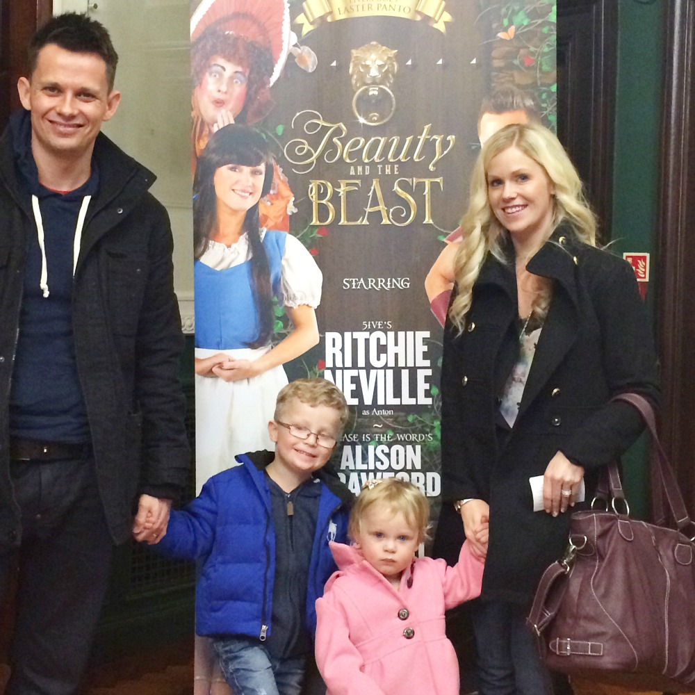 Our first Beauty & the beast pantomime at Epstein Theatre