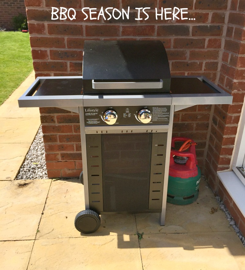 Family fun and BBQ time Asda outdoor toys picnic table and Wayfair BBQ