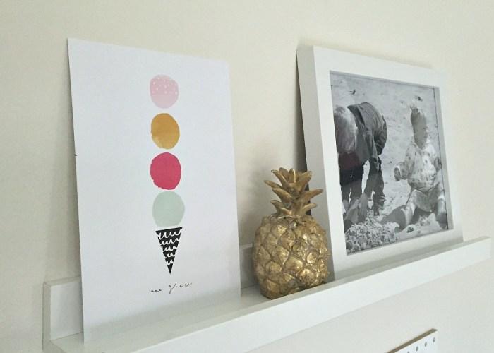 Home Decor // Shelves + Frames