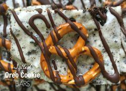 Salted Oreo Cookie Bars Recipe