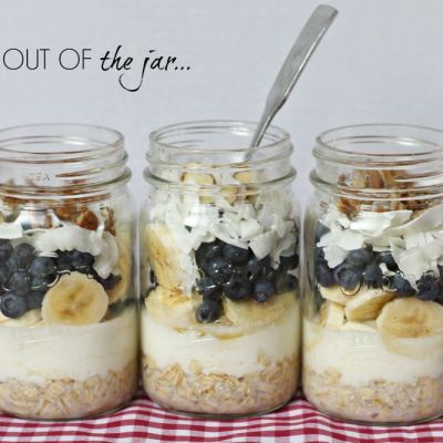 Breakfast Oatmeal in a Jar ~ Recipe