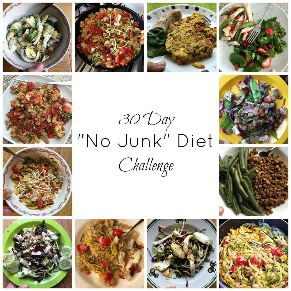 My 30 day no junk diet challenge this summer