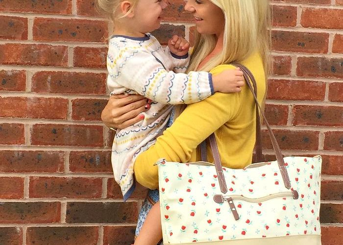 A Tulips and Forget Me Nots Tote for all occasions