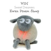 Win a Sweet Dreamers Ewan Dream Sheep Grey fleece stuffed animal