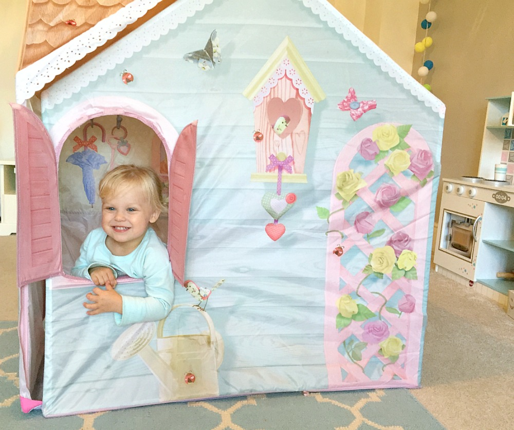 Dream Town Rose Petal Cottage Toddler Play Tent